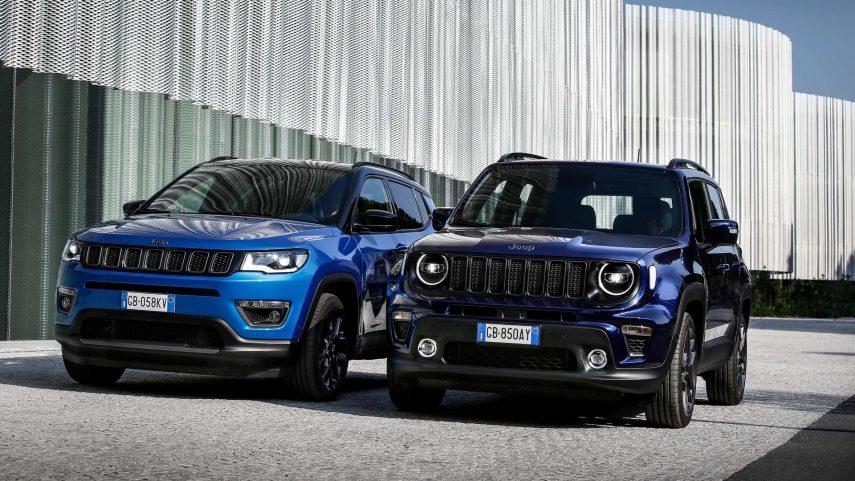 Jeep Renegade 4xe y Jeep Compass 4xe, los híbridos enchufables norteamericanos ya están disponibles