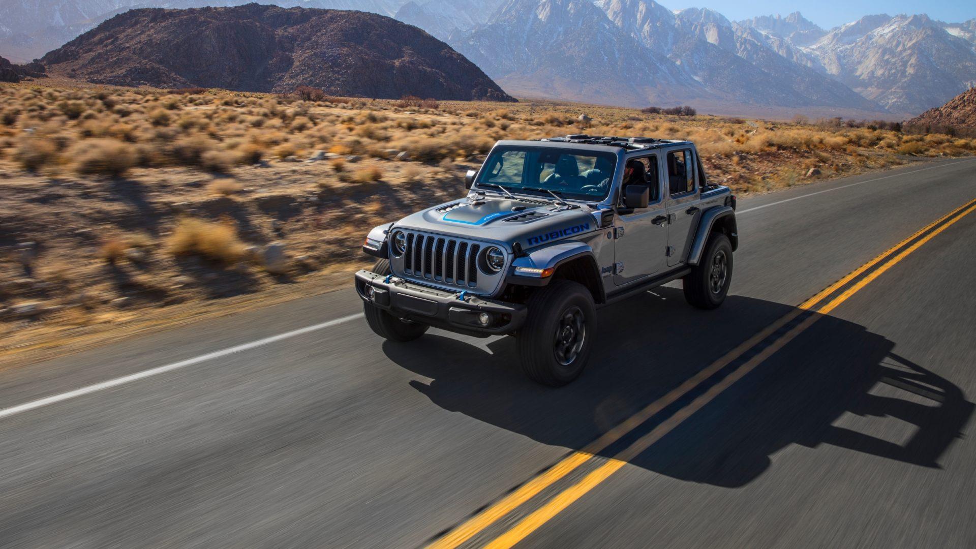 Jeep Wrangler 4Xe, la hibridación llega al mítico todoterreno yankee