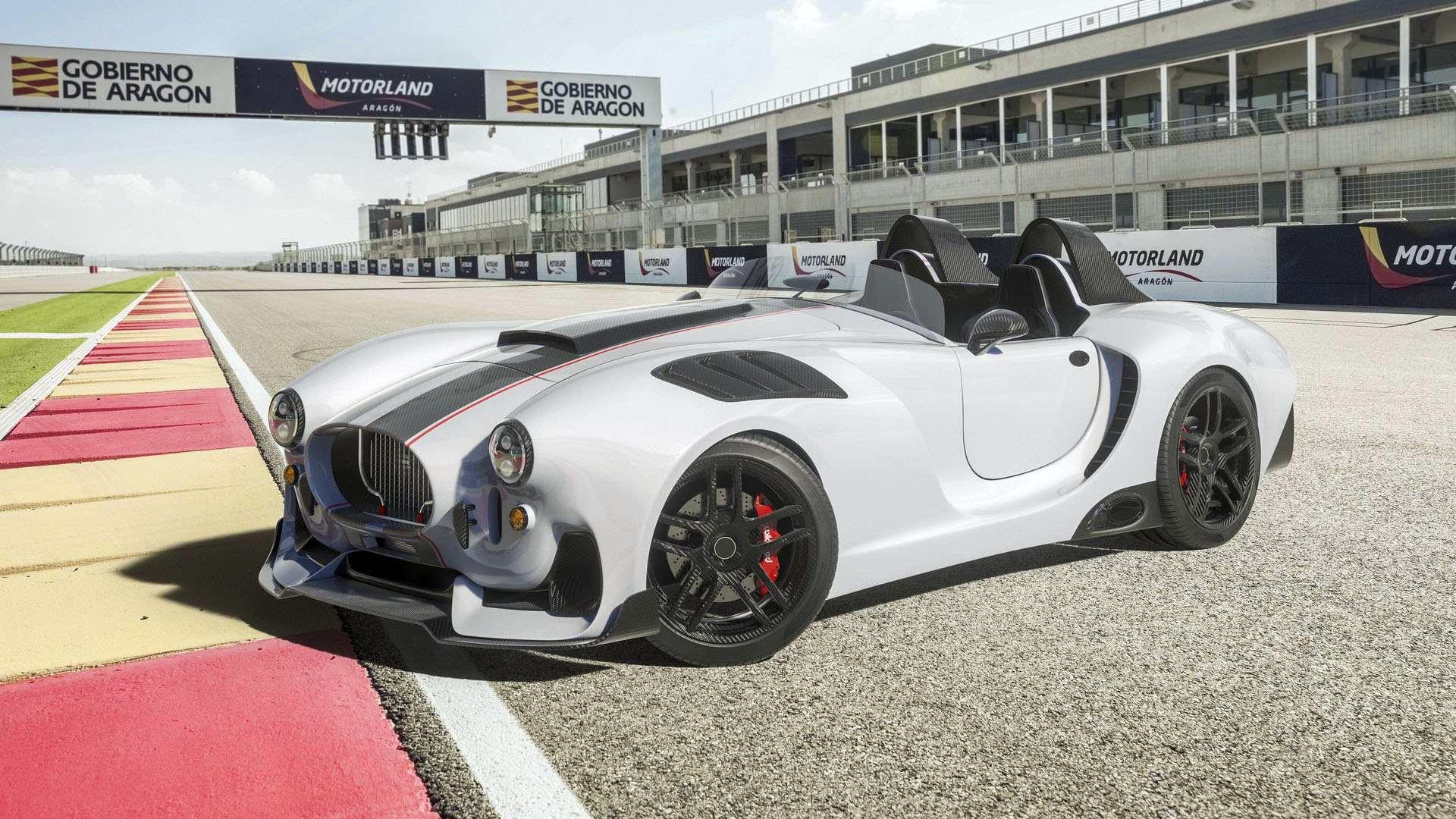 Knight Vision R, un Shelby Cobra del siglo XXI