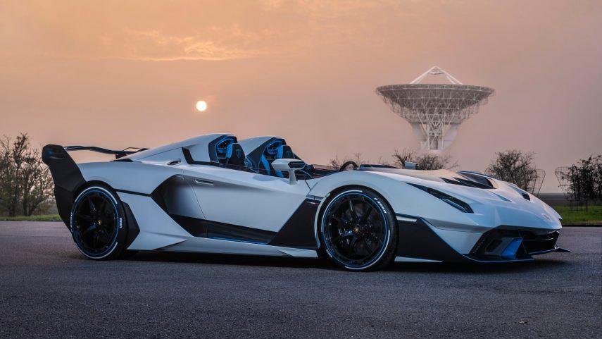 El Lamborghini SC20 es una creación única a petición de un cliente muy exigente