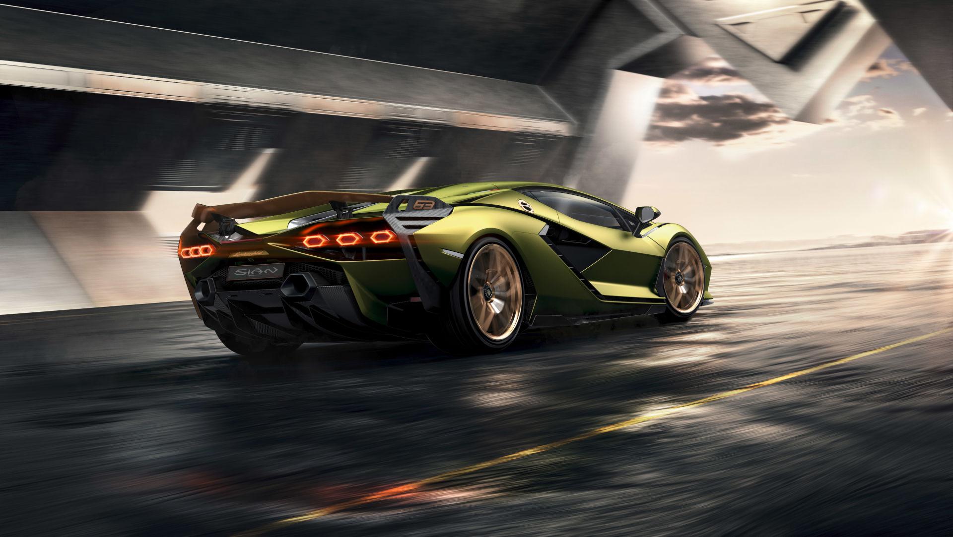 Lamborghini Sian 2019 5