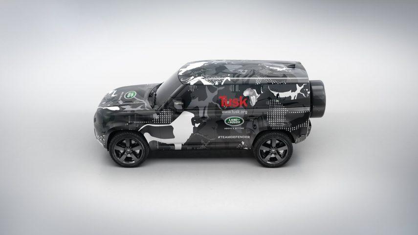El nuevo Land Rover Defender se pone a punto en todos los terrenos
