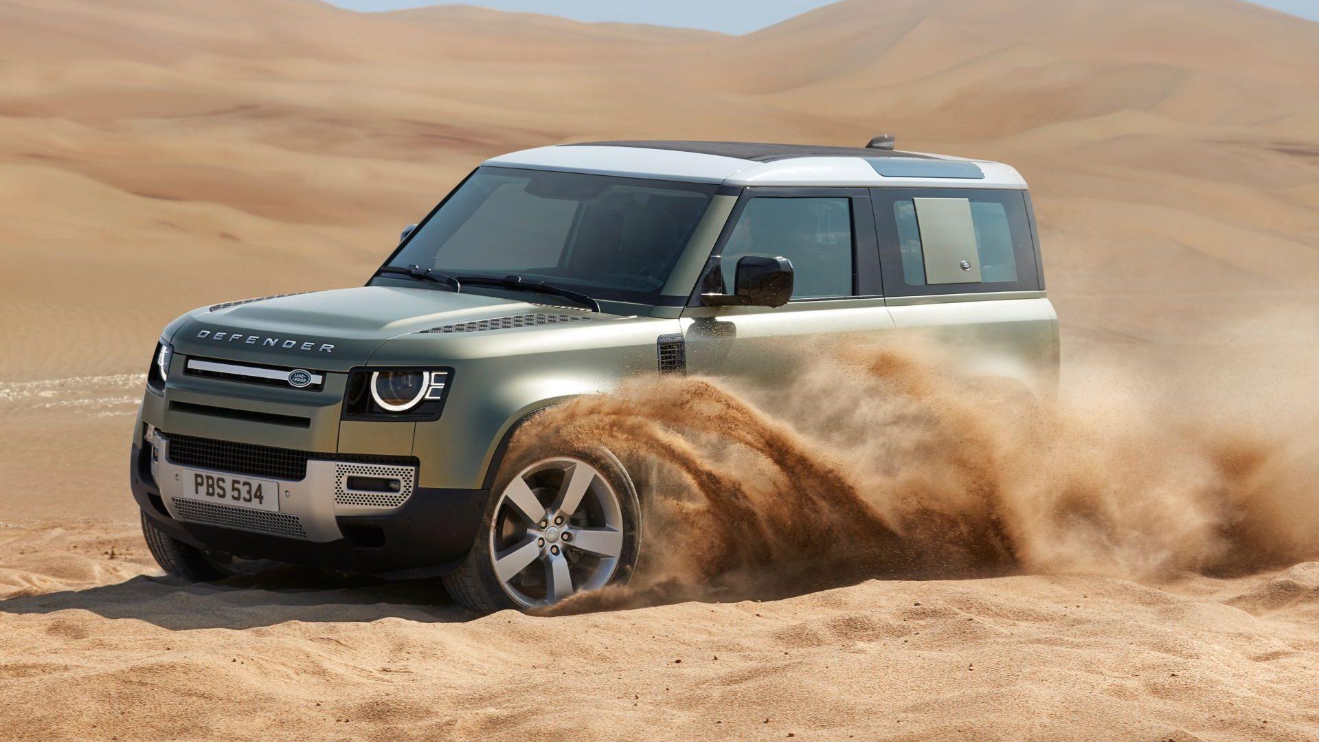 Nuevo Land Rover Defender, ¡¡irreconocible!!