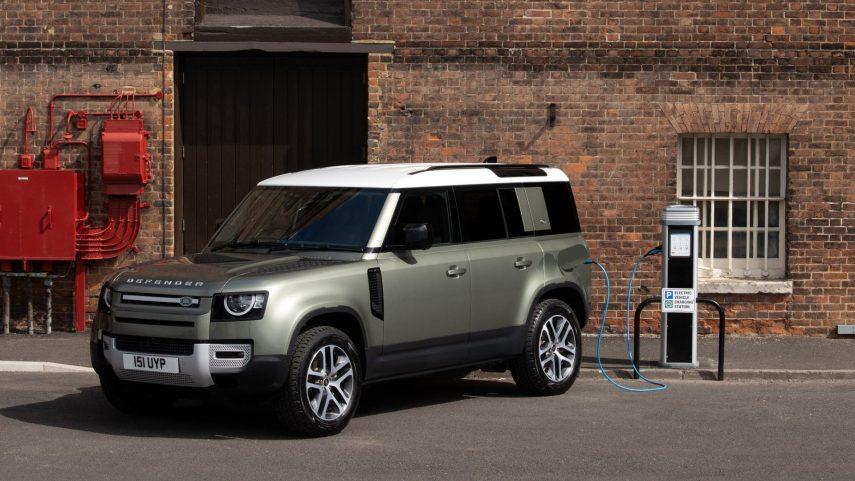 La electrificación llega al Land Rover Defender