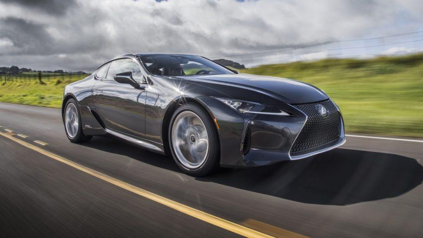 El Lexus LC 500h se actualiza ligeramente