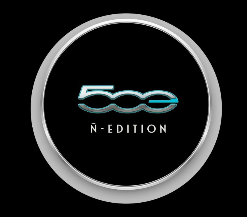 logo fiat 500 electrico ñ edition 2020
