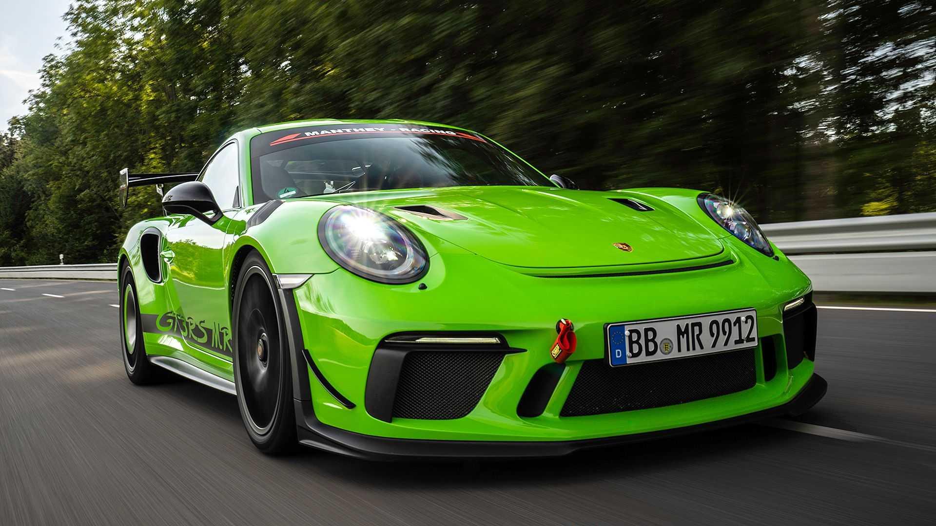 Manthey-Racing modifica el Porsche 911 GT3 RS