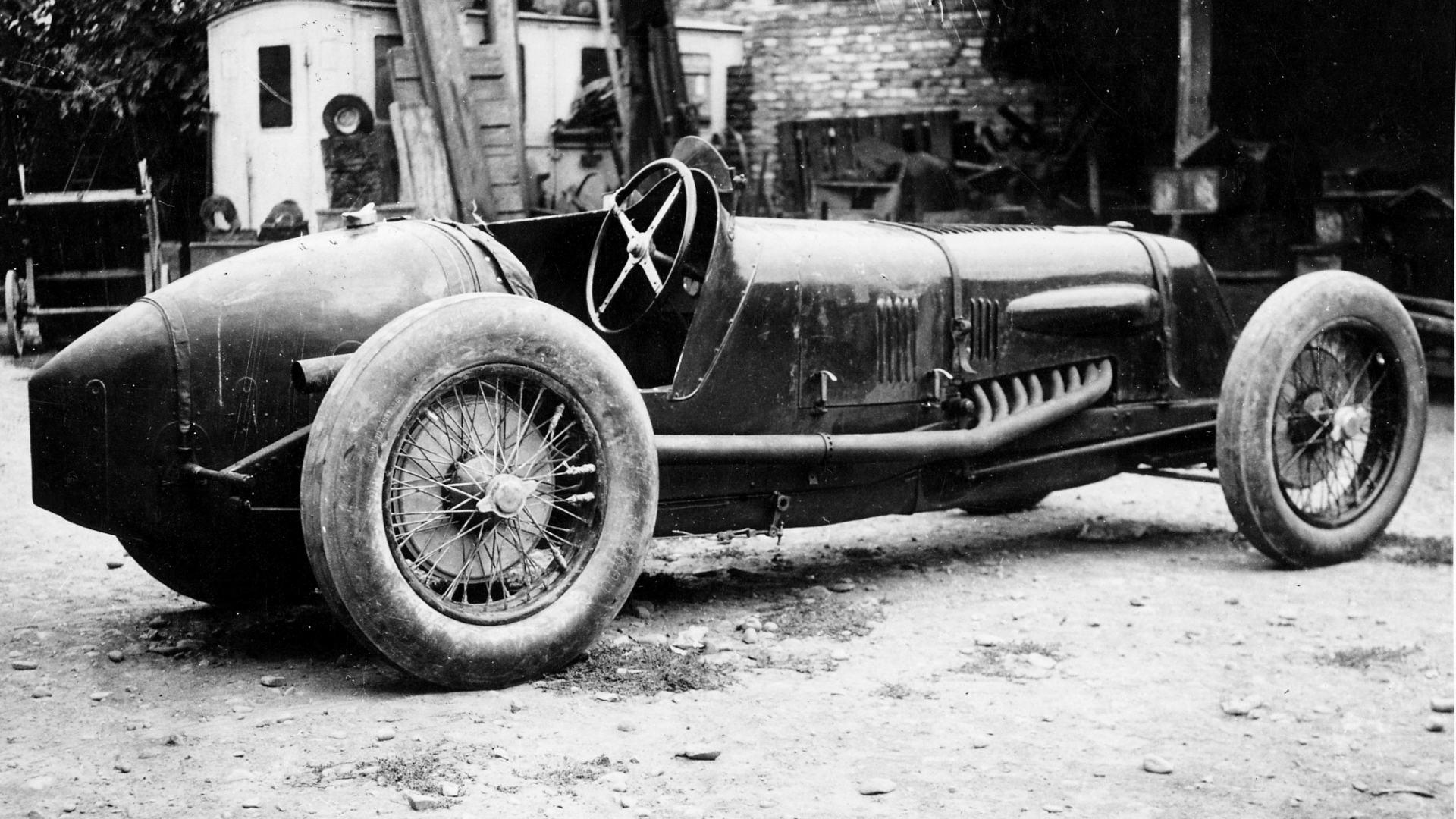 El Maserati Tipo V4 y la historia de un récord de velocidad