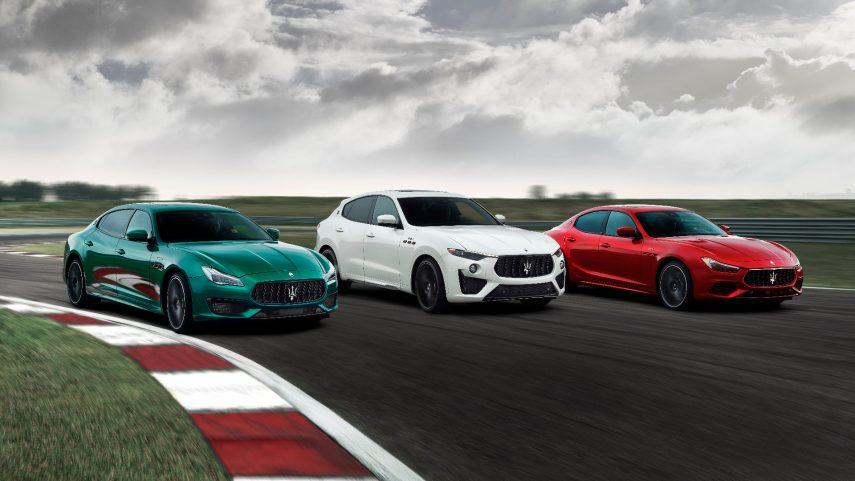 Maserati amplía la colección Trofeo con los Ghibli y Quattroporte