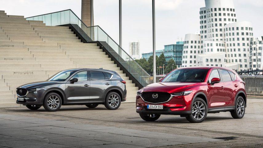El Mazda CX-5 recibe cambios de detalle y nuevos colores