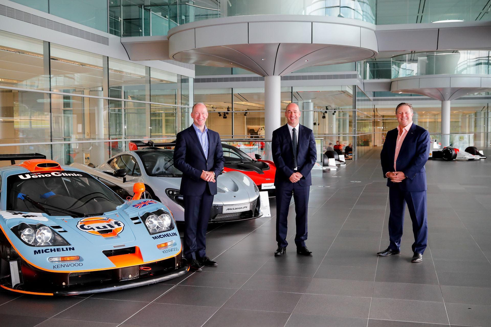 McLaren se alía de nuevo con Gulf como patrocinador