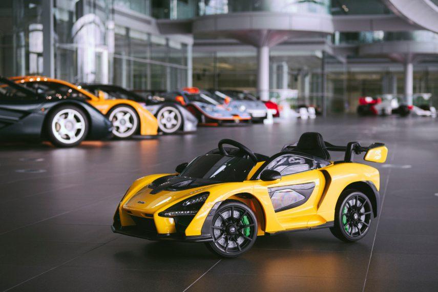 El McLaren Senna Ride-On para los más pequeños
