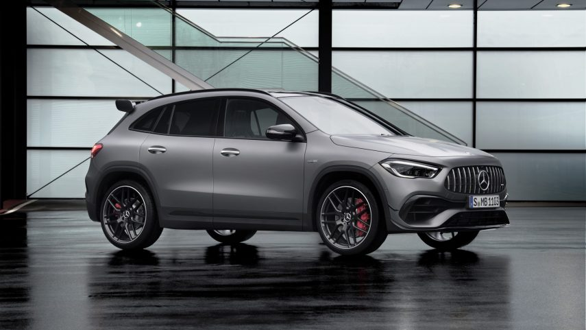 Mercedes-AMG GLA45 4MATIC+, hasta 421 CV