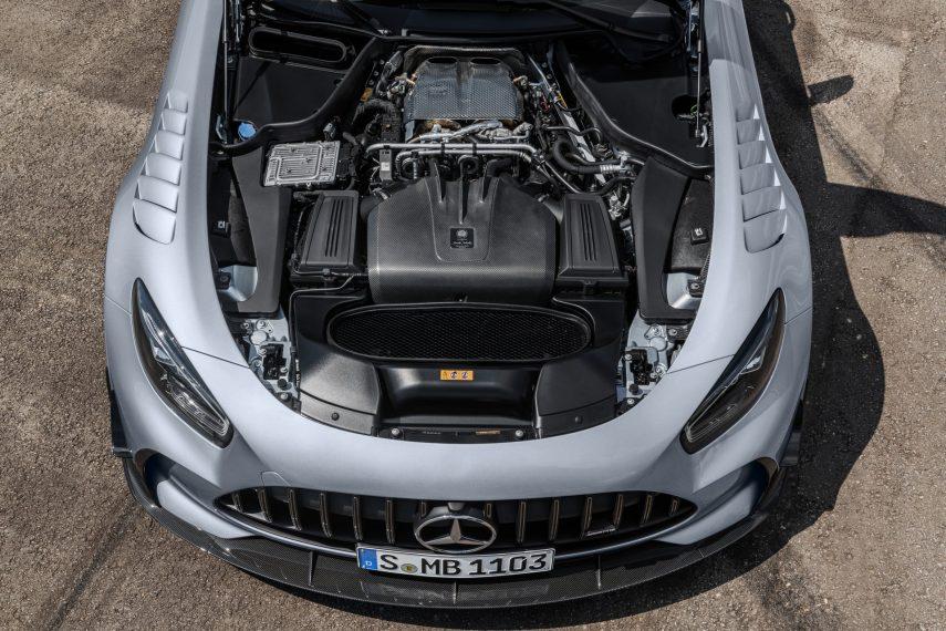 Mercedes-AMG dejará de fabricar motores V8 y en su lugar, habrá un cuatro cilindros híbrido