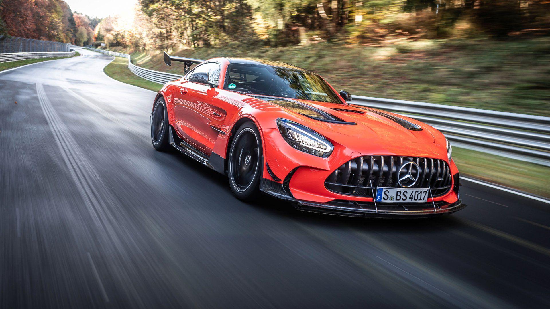 El Mercedes-AMG GT Black Series se corona como el más rápido en Nürburgring