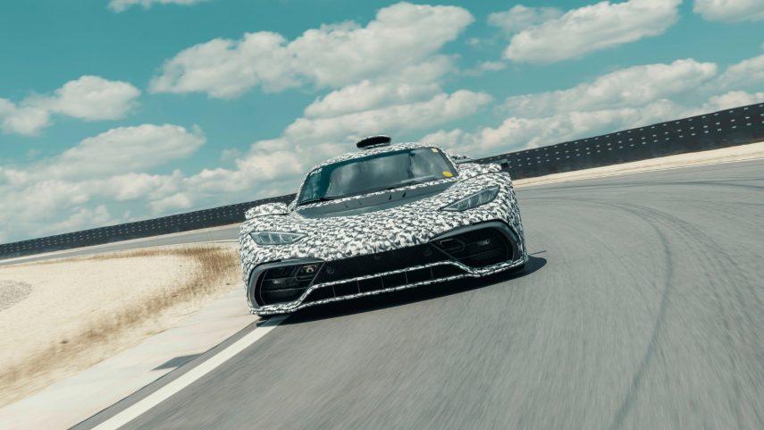 El Mercedes-AMG Project ONE ya está cerca de la fase de producción