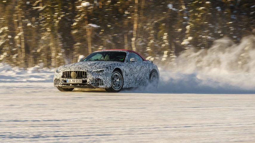 El nuevo Mercedes SL será desarrollado por AMG y tendrá versiones con tracción total