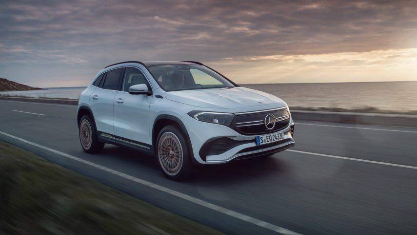 El nuevo Mercedes EQA estará a la venta el día 4 de febrero