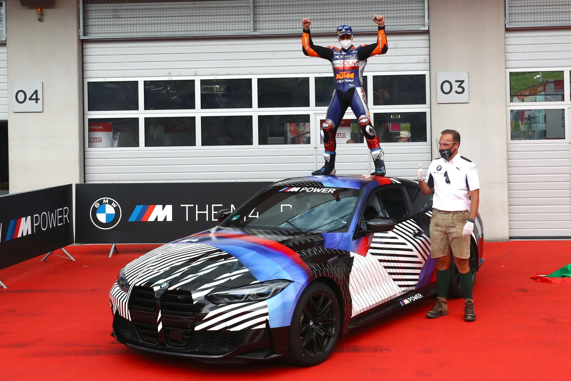 Miguel Oliveira se lleva el nuevo BMW M4 Coupé