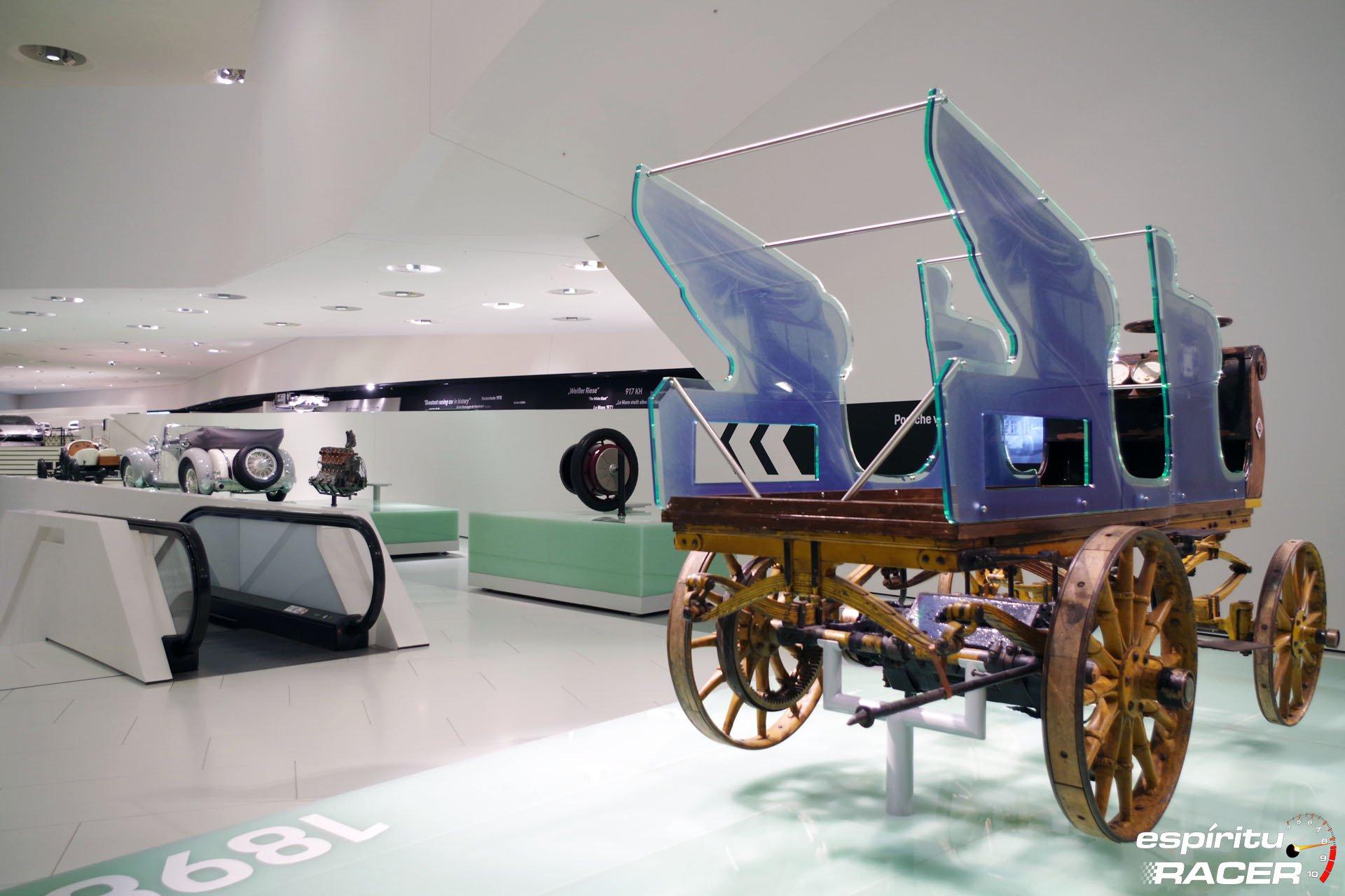 Museo Porsche 17 Carruaje