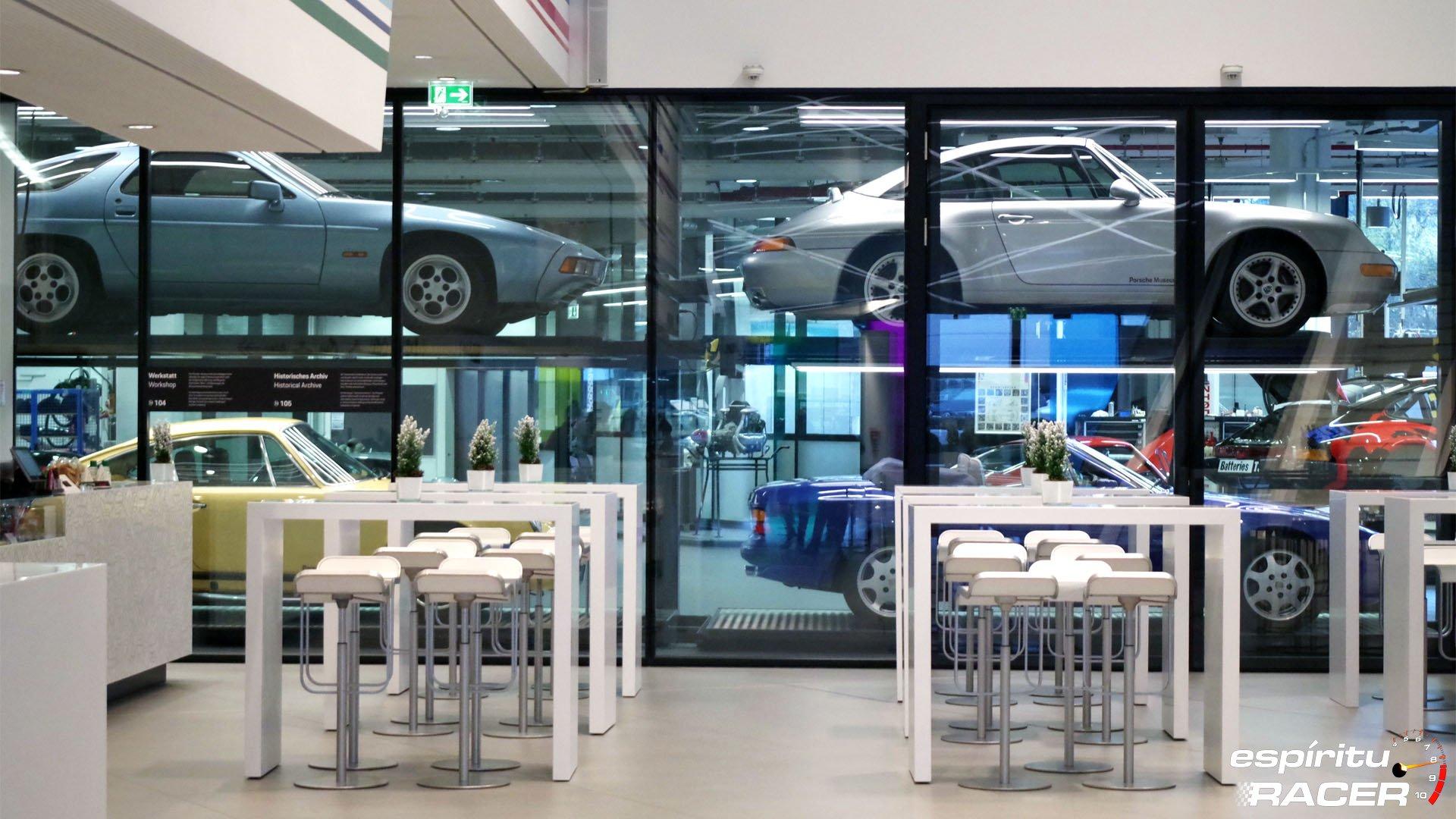 Museo Porsche 19 Cafe Taller