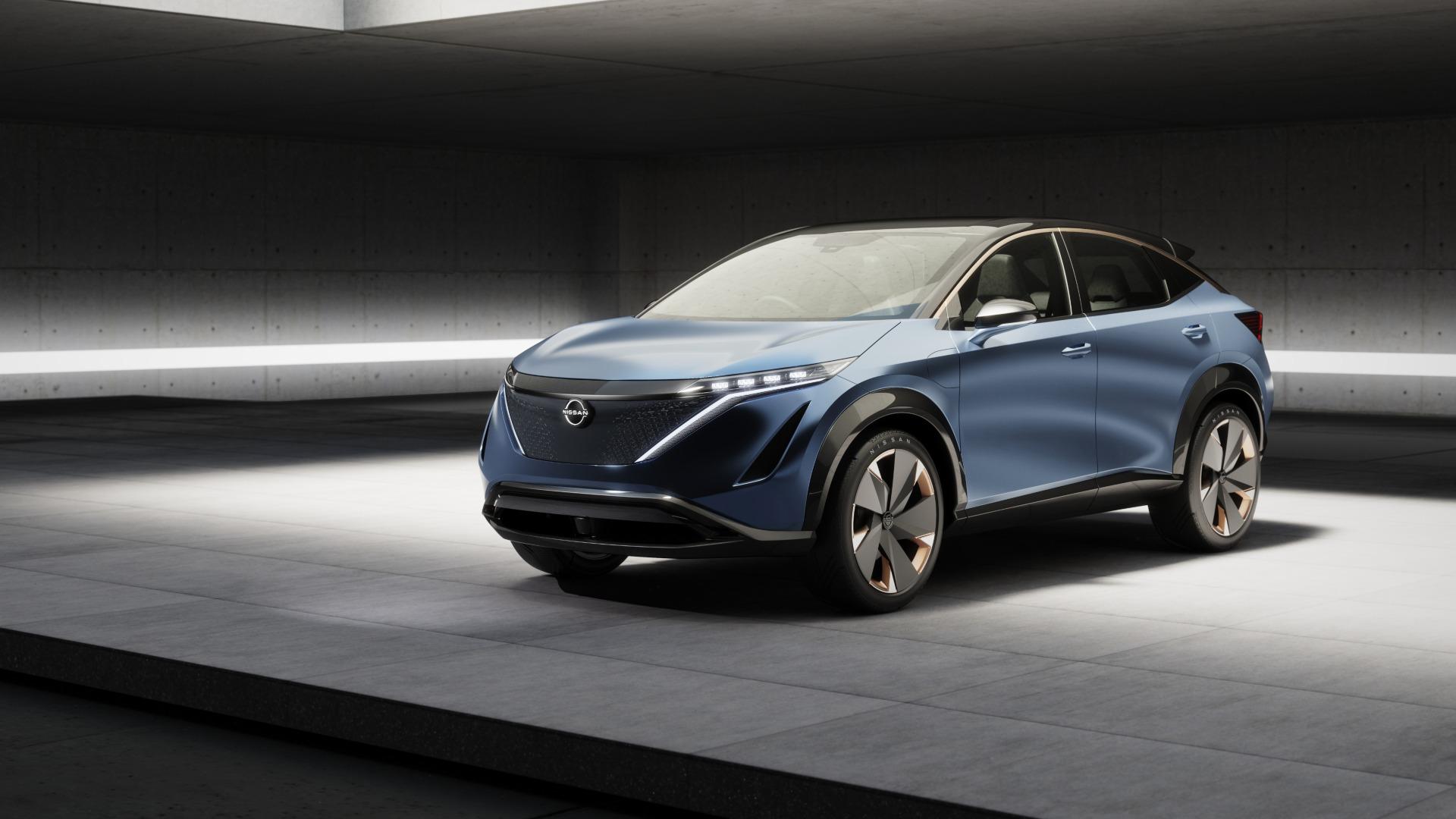 Nissan ARIYA Concept, ¿adelanto del próximo Qashqai?