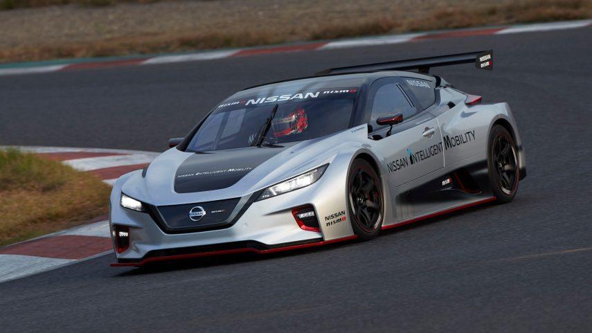 El Nissan Leaf NISMO RC rueda en el Ricardo Tormo de Cheste