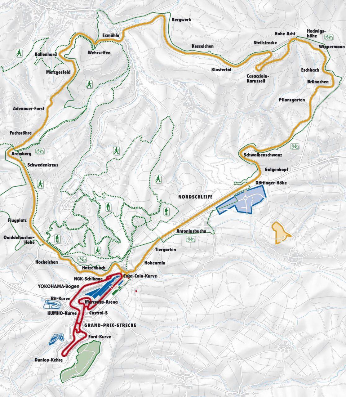 Nurburgring Nordschleife circuito