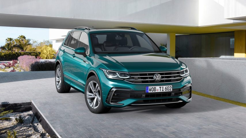 Volkswagen Tiguan, la marca nos ofrece un adelanto de su restyling