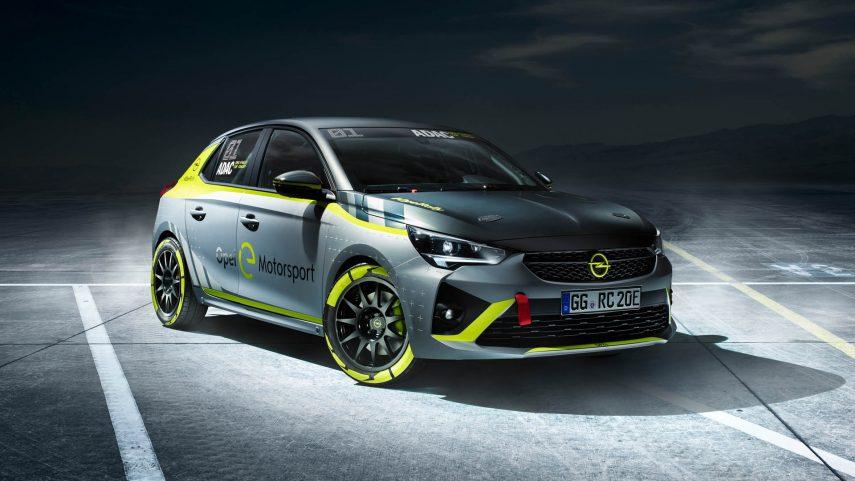 El primer coche eléctrico de rally es el Opel Corsa-e Rally