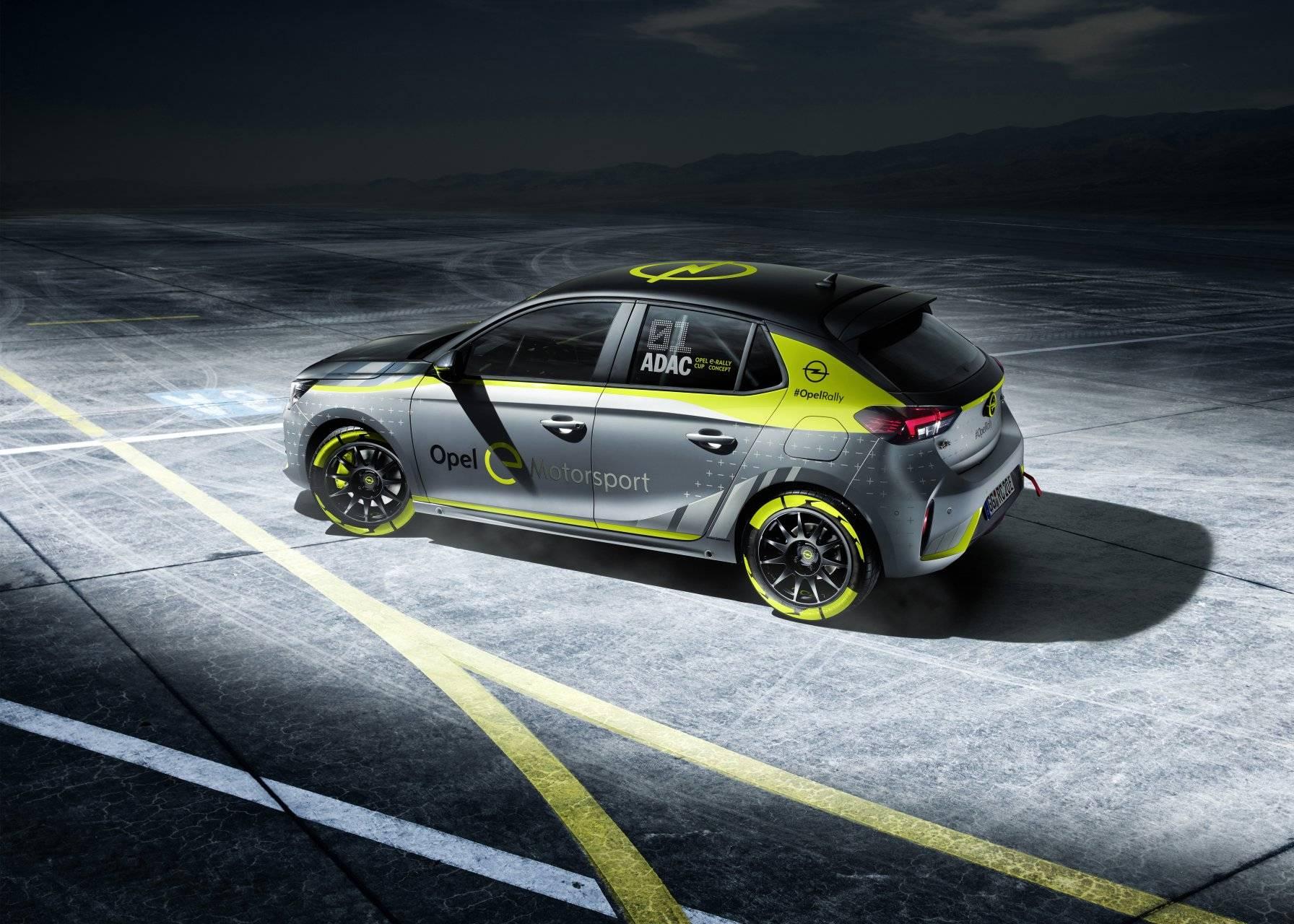 Opel Corsa e Rally 4
