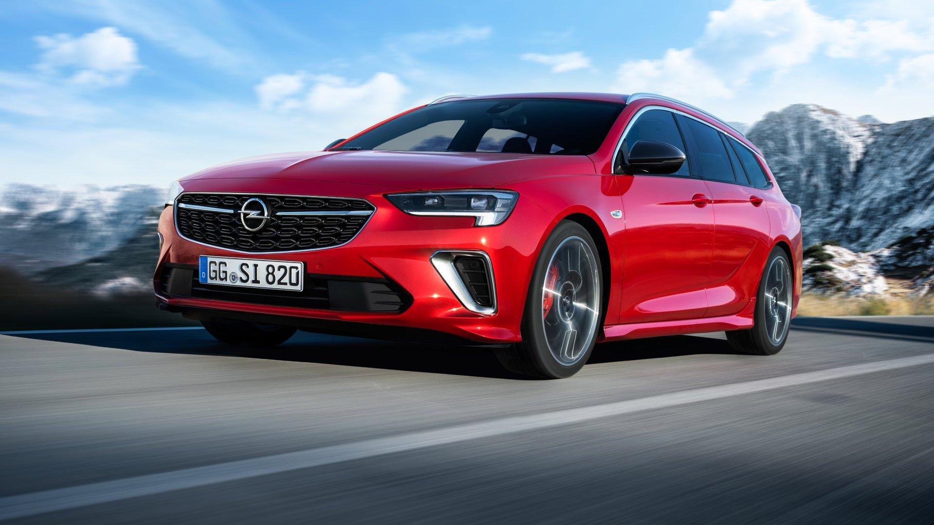 El nuevo Opel Insignia debuta en el Salón de Bruselas