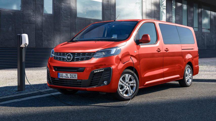 Opel Zafira e-Life, eléctrica hasta 330 kilómetros de autonomía