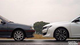 Peugeot 508 GT Hybrid vs Peugeot 405 Mi16 14