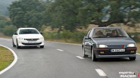 Peugeot 508 GT Hybrid vs Peugeot 405 Mi16 18