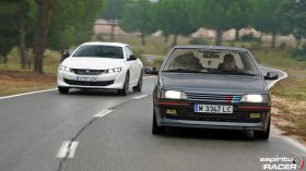 Peugeot 508 GT Hybrid vs Peugeot 405 Mi16 19