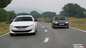 Peugeot 508 GT Hybrid vs Peugeot 405 Mi16 20