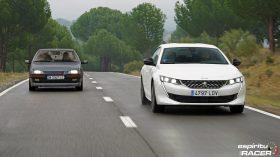 Peugeot 508 GT Hybrid vs Peugeot 405 Mi16 21