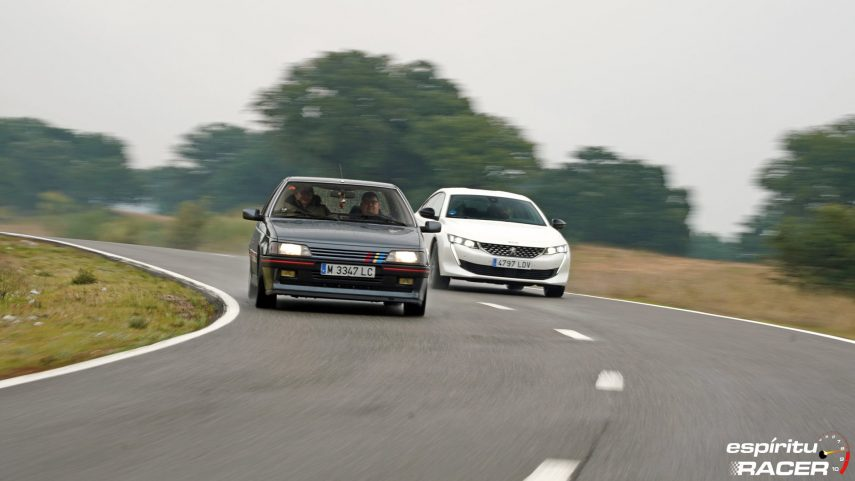 Peugeot 508 GT Hybrid vs Peugeot 405 Mi16 22