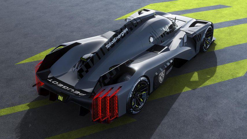 Este es el Peugeot 9X8 Hypercar, que debutará en pista en 2022