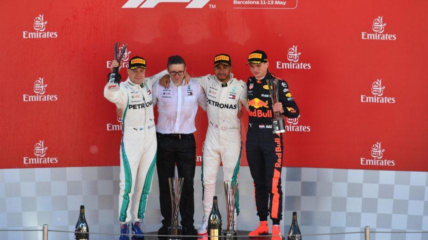 GP de España: aburrimiento aerodinámico y humo