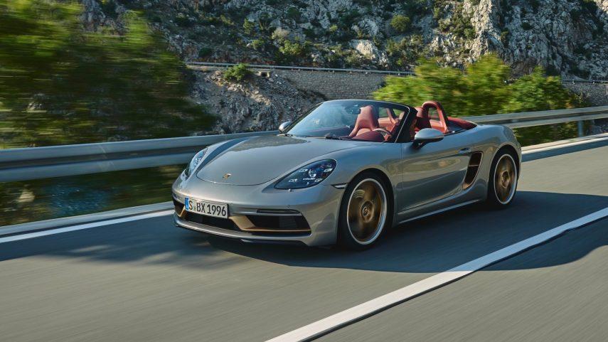 Porsche celebra el 25 aniversario del Boxster con una edición especial