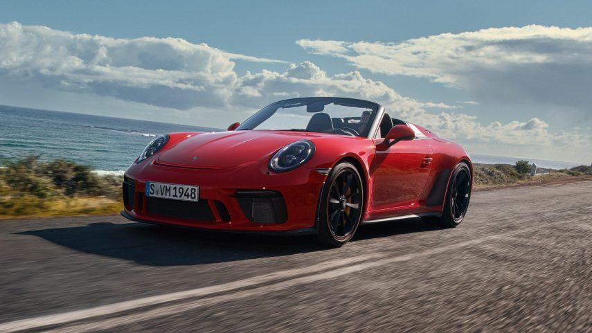 El Porsche 911 Speedster es la esencia de la conducción