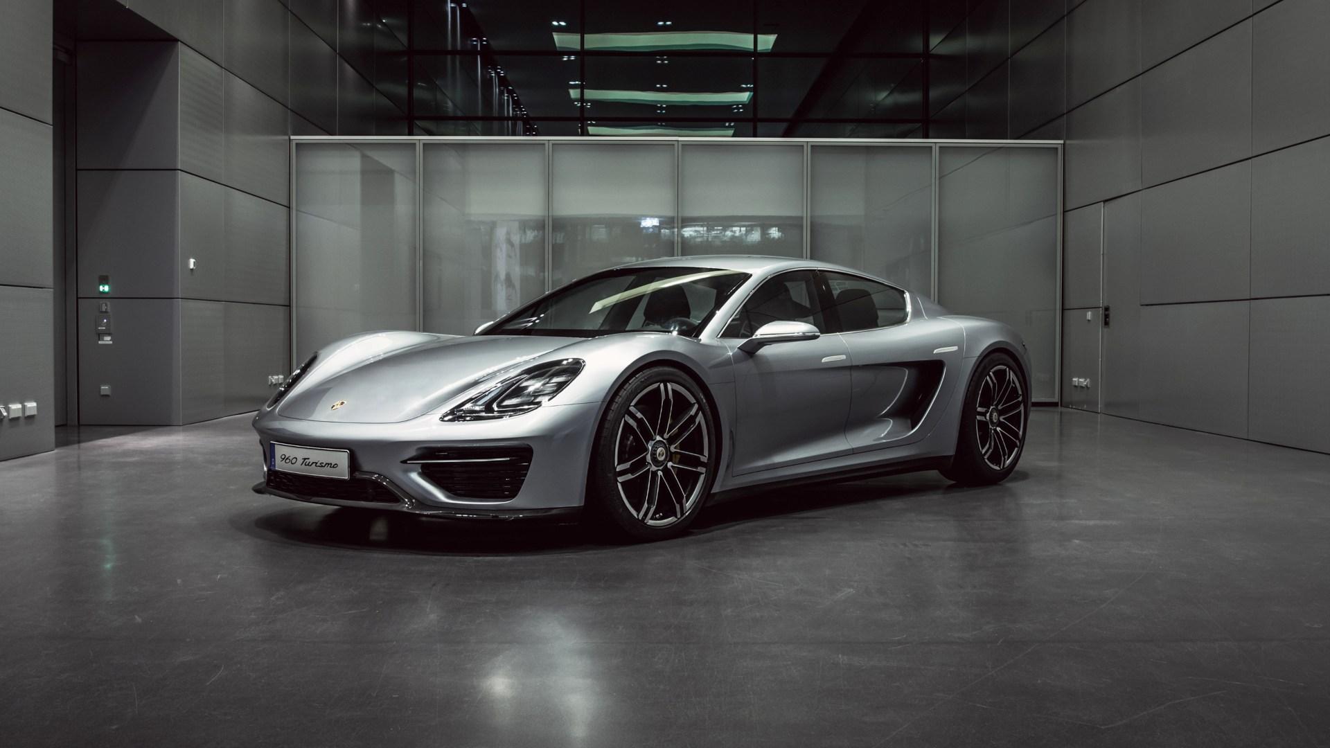 Porsche desvela el 960 Vision Turismo, la primera piedra hacia el Porsche Taycan