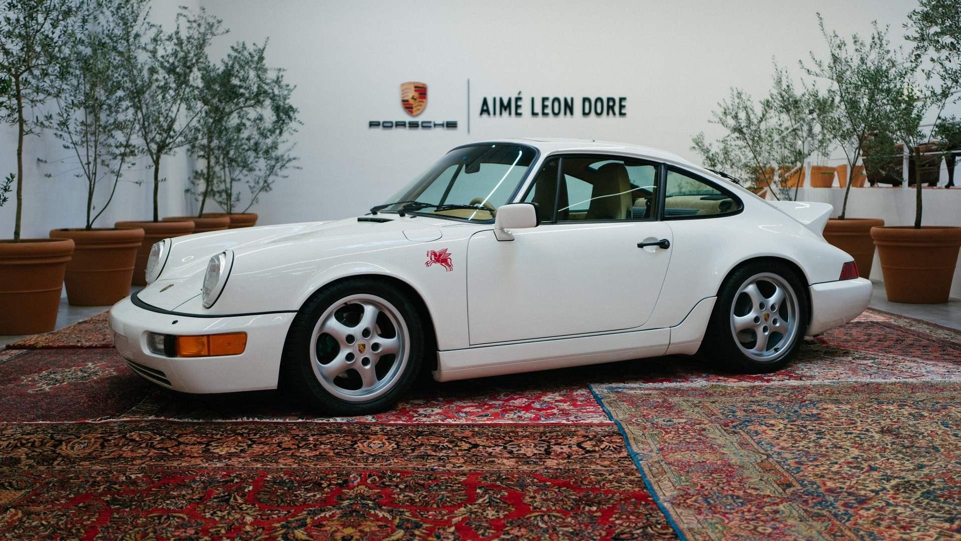 Aimé Leon Dore (ALD) crea el Porsche 911 de sus sueños