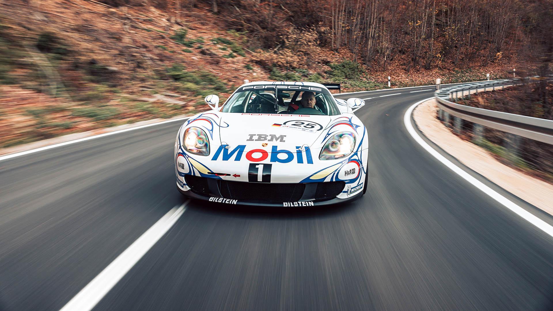 El único Porsche Carrera GT listo para competición está a la venta
