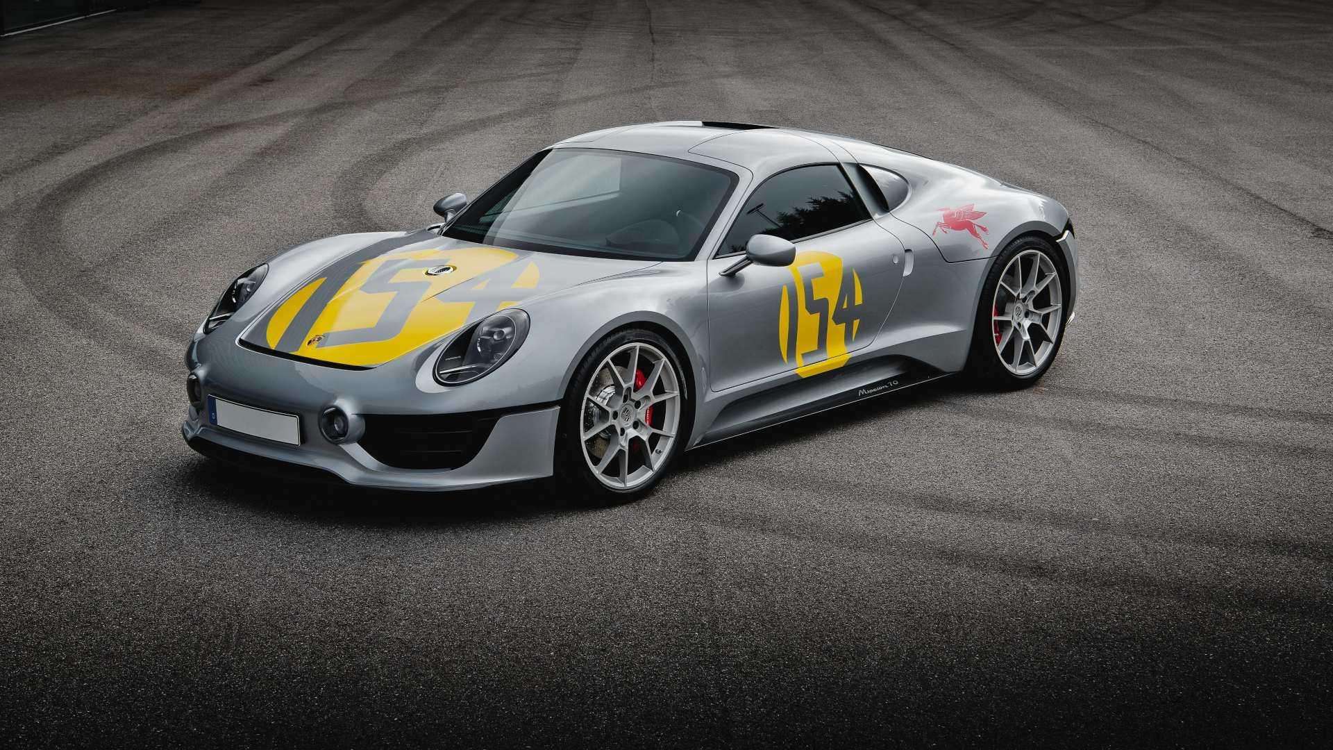 """Porsche registra el diseño de uno de sus concept car """"secretos"""""""