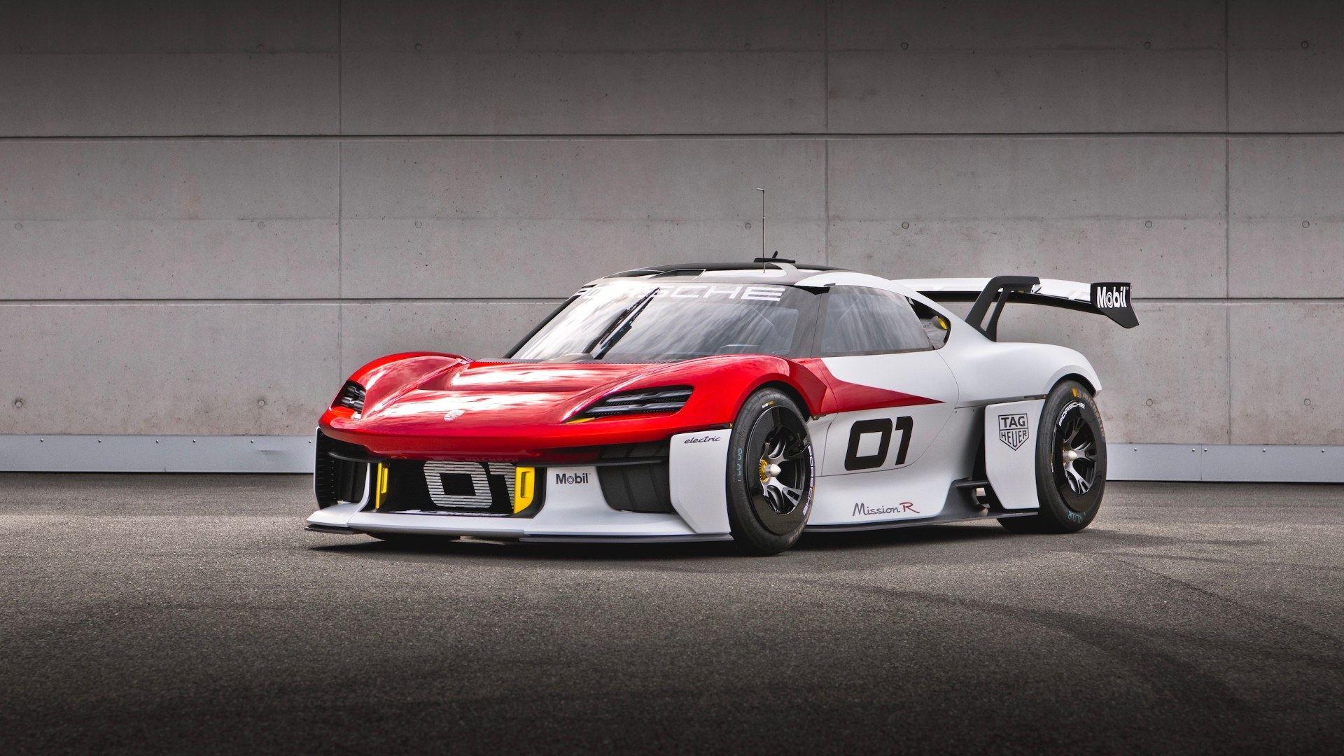 El Porsche Mission R es el futuro de los carreras cliente de la marca