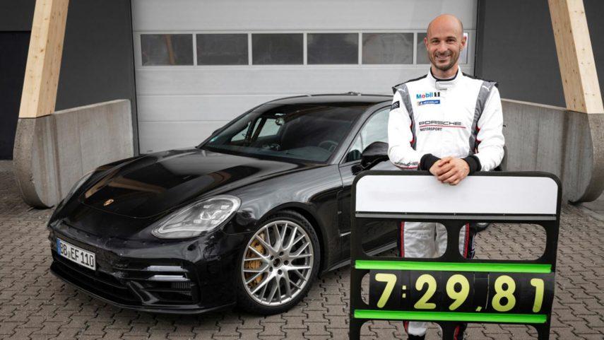 El nuevo Porsche Panamera consigue el récord en Nürburgring