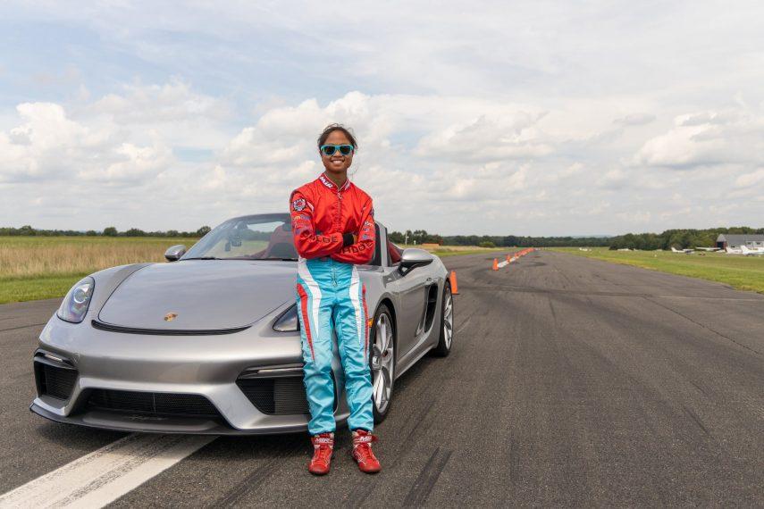 Porsche Record Guiness Slalom Chloe Chambers 2020 1